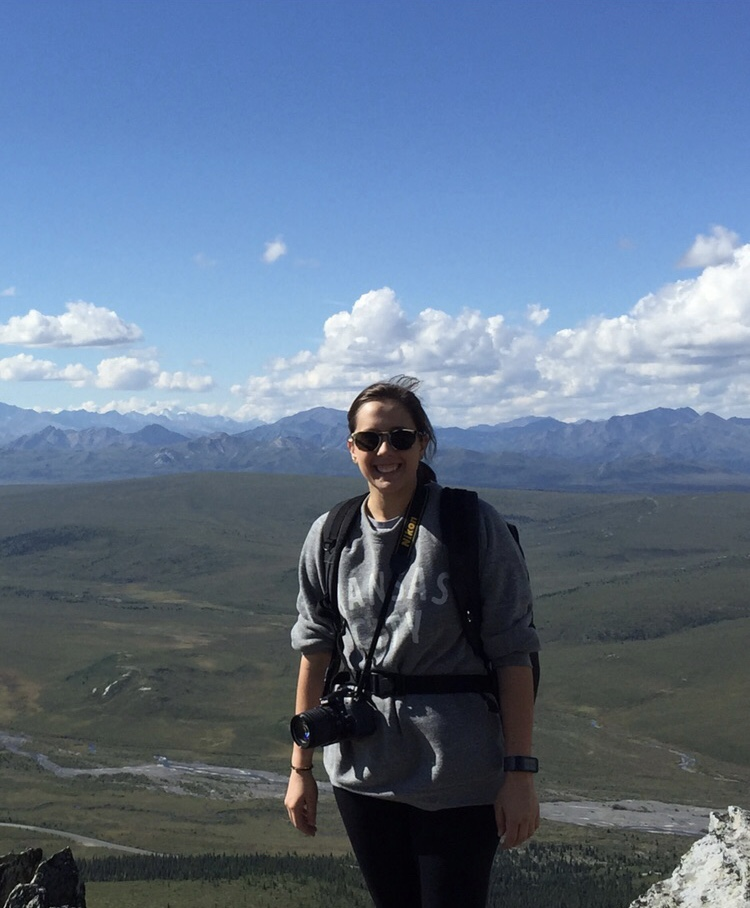 Hiking the tundra in Denali on a down day with the Arctic Boreal Vulnerability Experiment