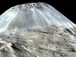 Los científicos resuelven el misterio de la montaña solitaria de Ceres