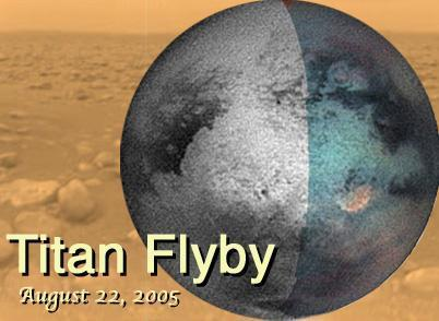 Titan Flyby 6 (T-6): Aug. 22, 2005