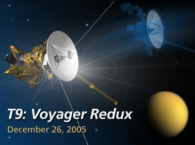 During Cassini's Dec. 26 flyby of Titan, the spacecraft will be in the same region that NASA's Voyager 1 flew by in 1980.
