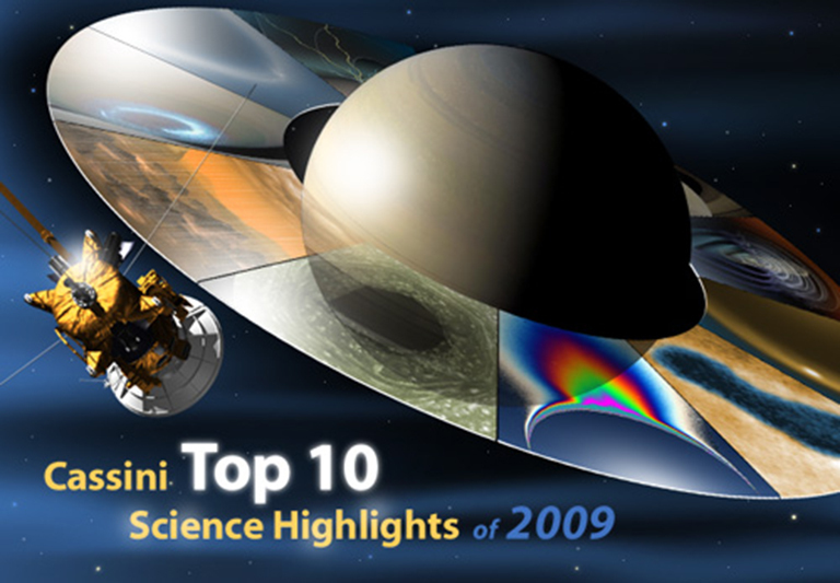 Cassini Top 10 Science Highlights -- 2009