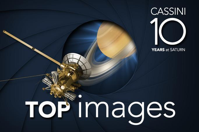Graphic: Cassini 10 Years at Saturn Top Images