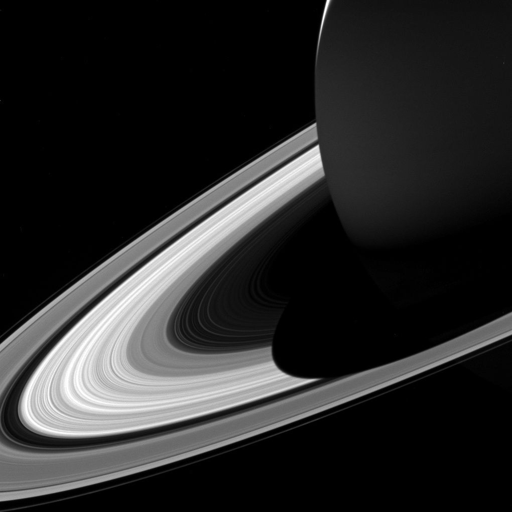 Saturn and its majestic rings
