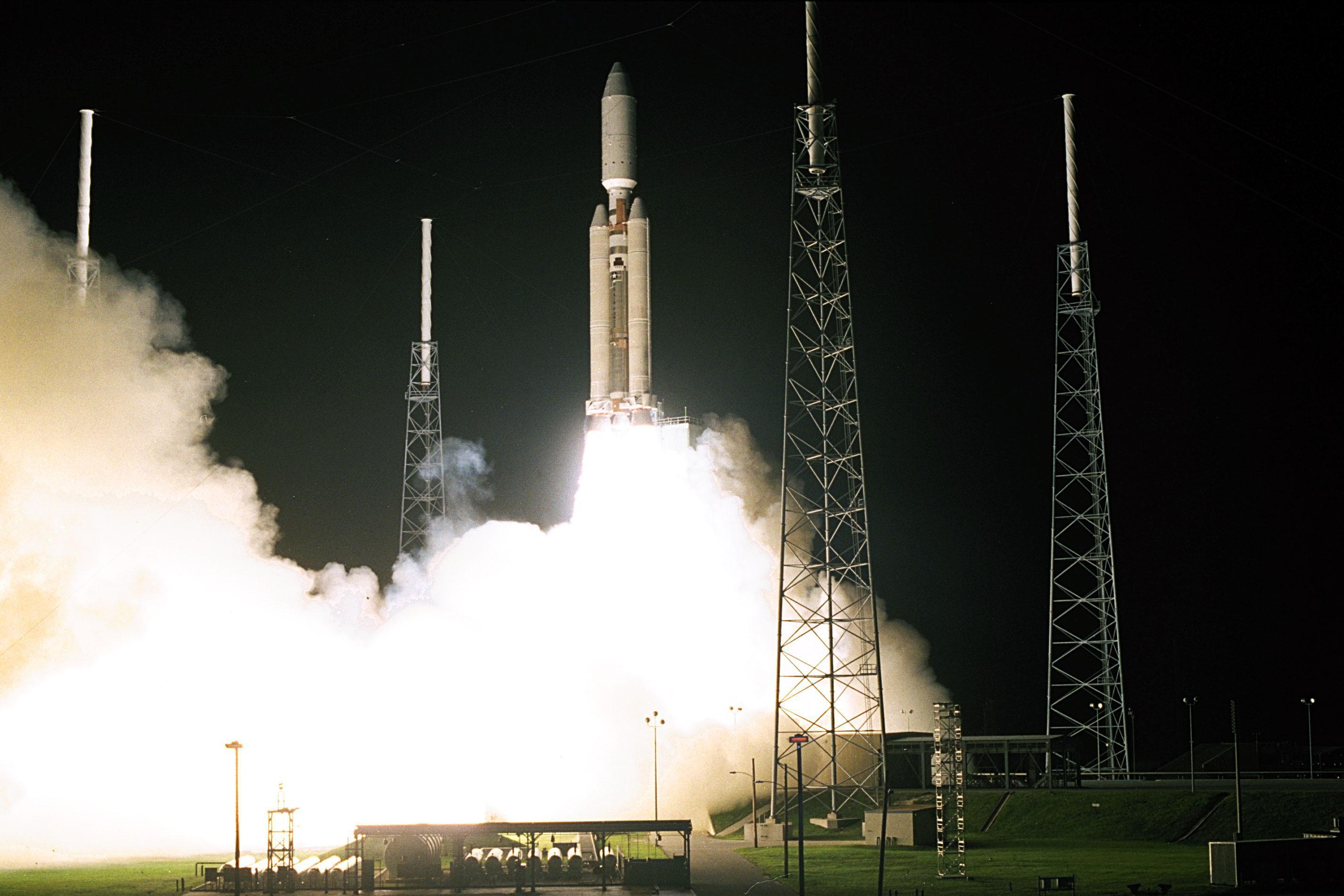 Cassini launch