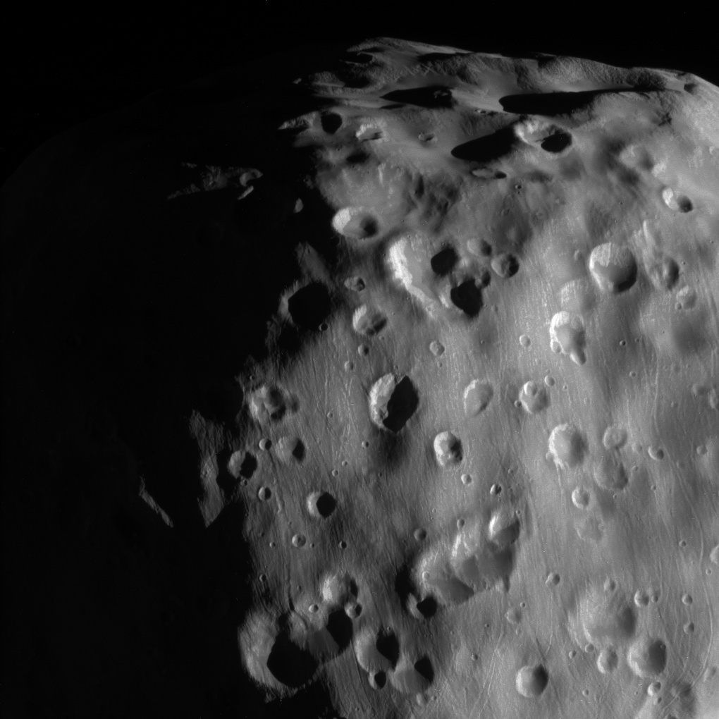Zoomed-in view of Epimetheus