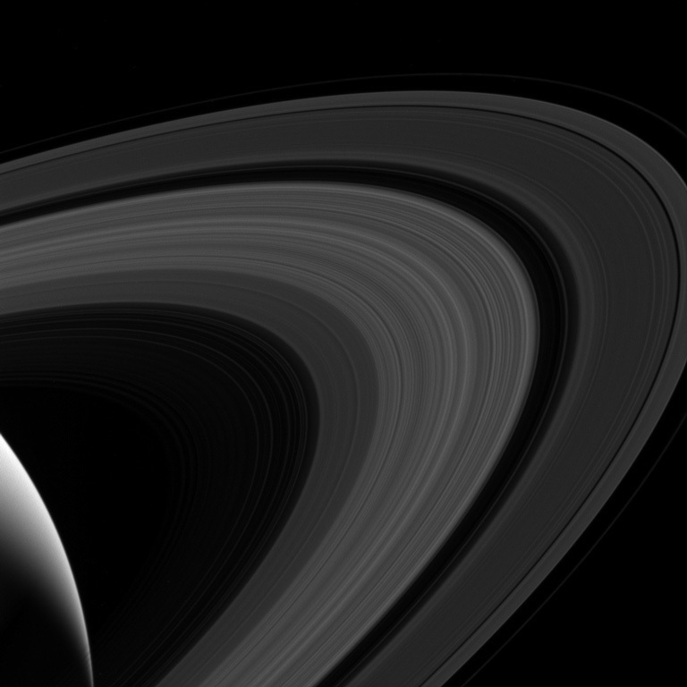 Saturn and its stunning rings