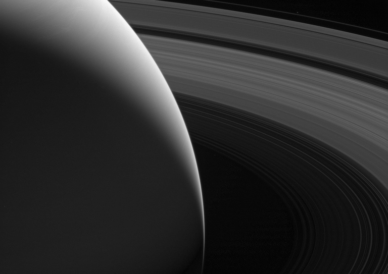 Saturn and its beautiful rings