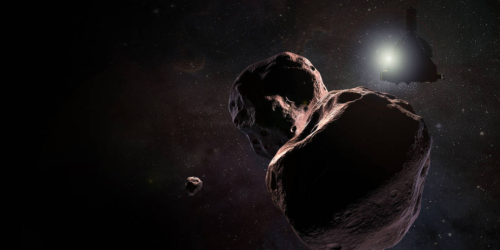 NASA's New Horizons spacecraft approaching 2014 MU69