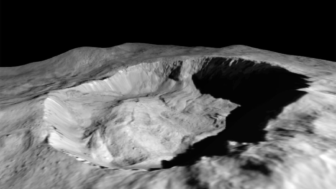 Ceres' Juling Crater