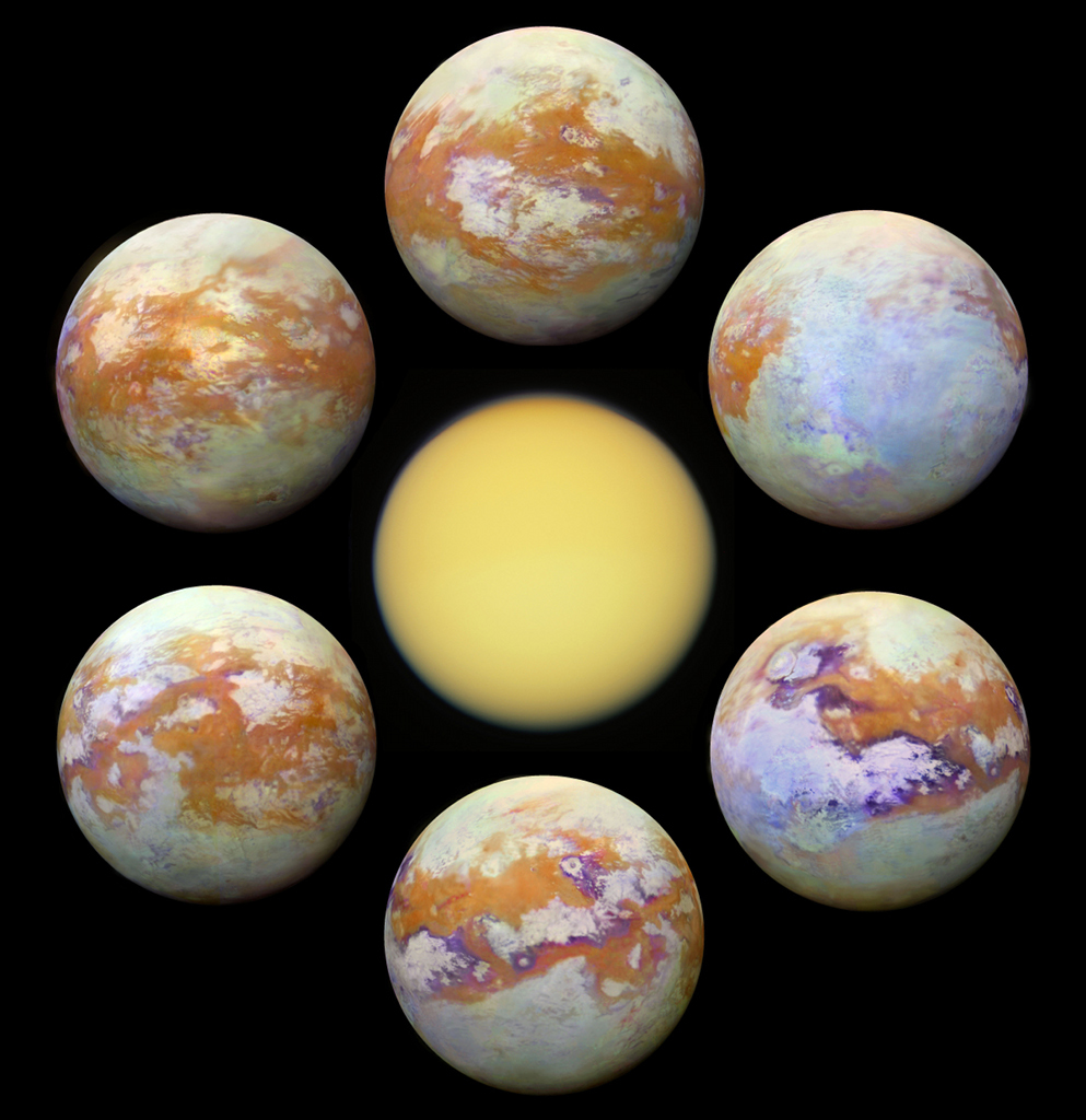 seven views of titan