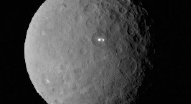 Ceres With 2 Bright Spots