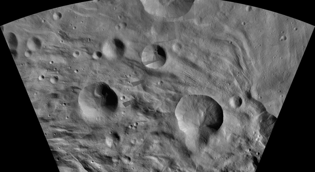 Touring the Giant Asteroid Vesta