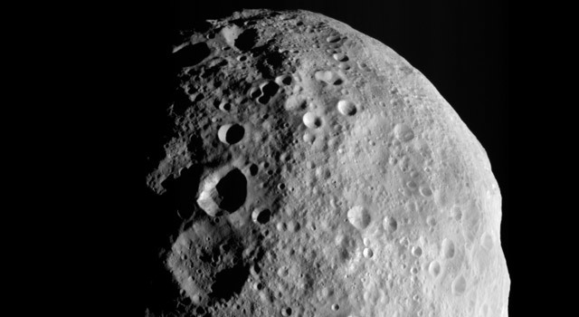 A Last Look Back at Vesta