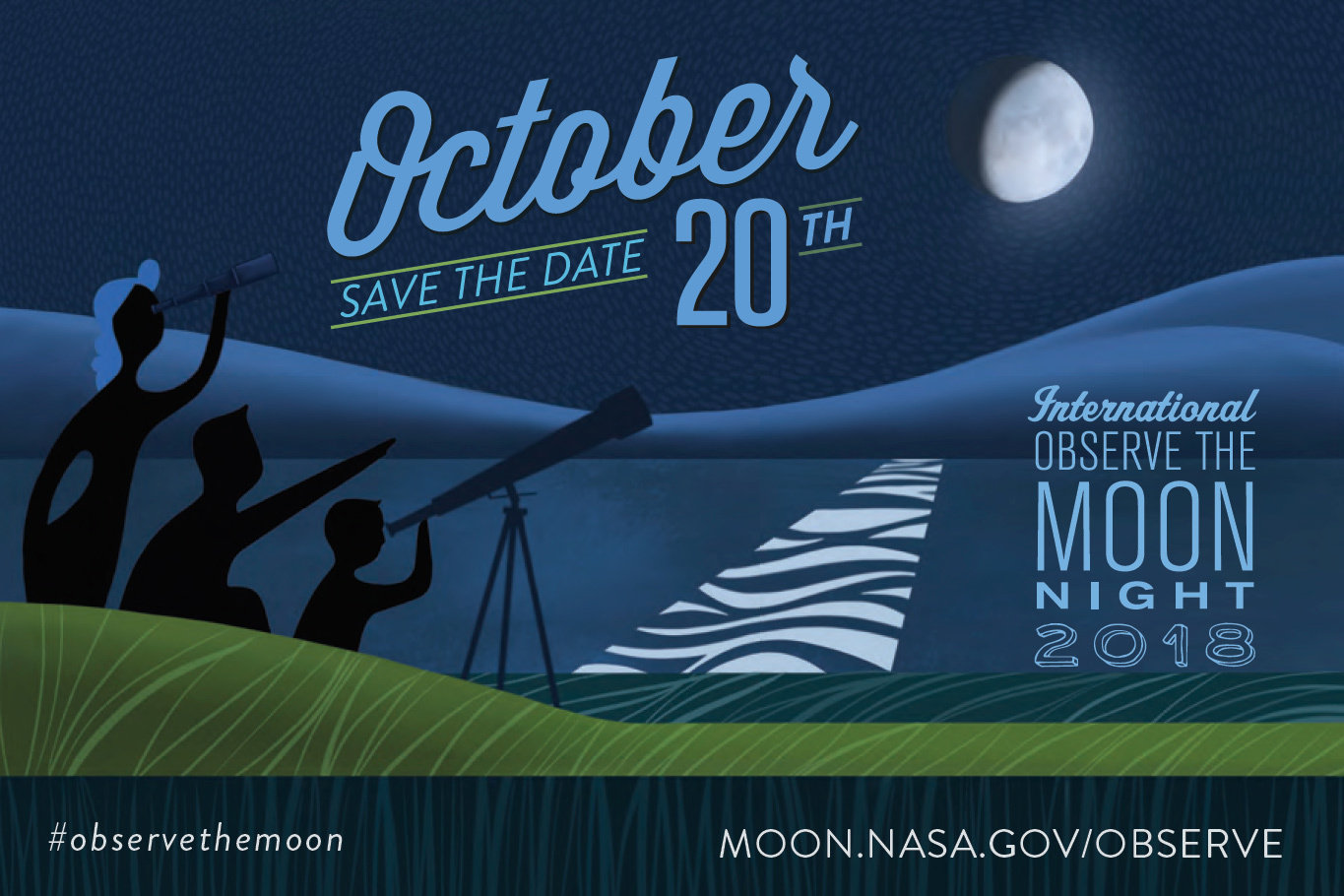 International Observe the Moon Night on Oct. 20