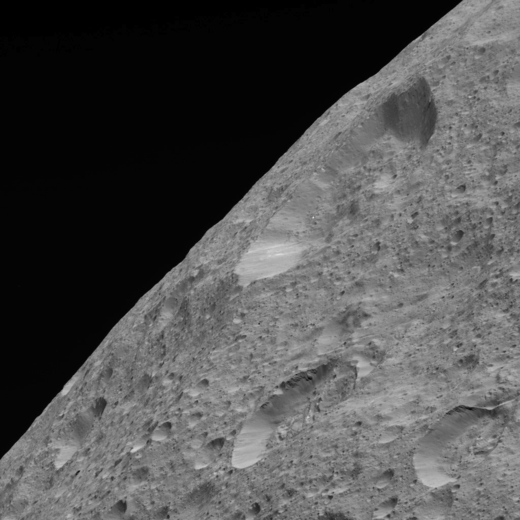Limb View of Ceres