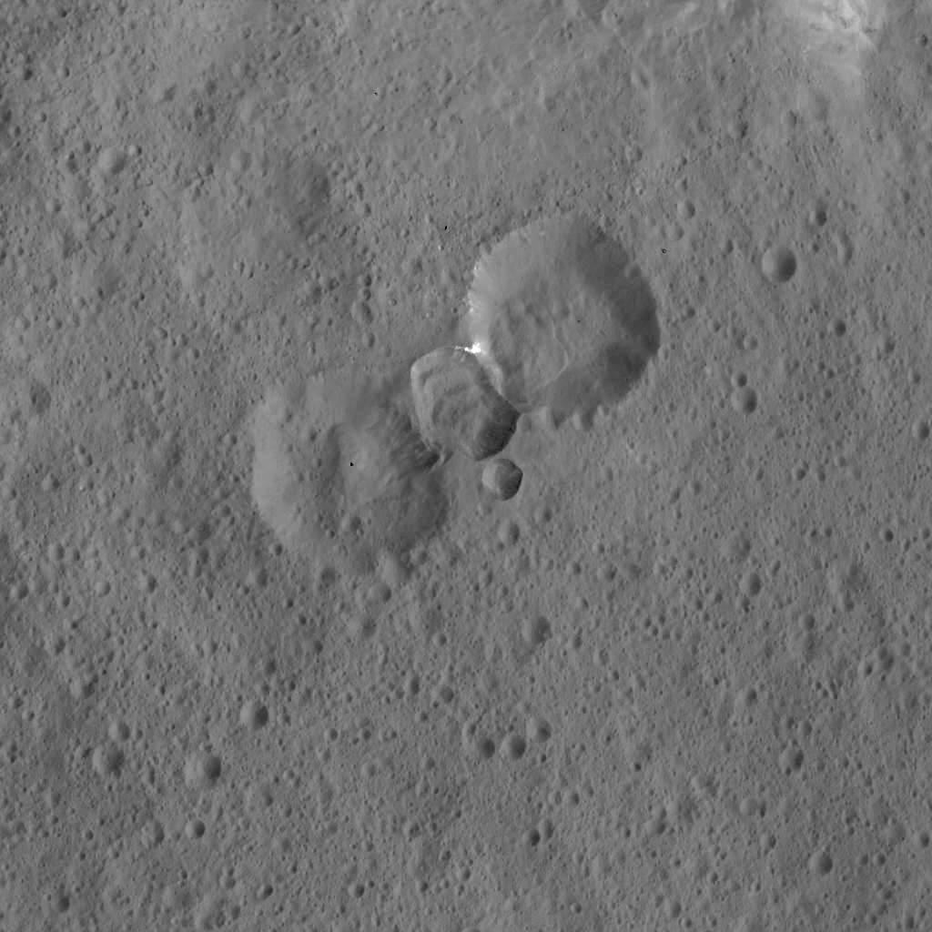Complex Crater Assemblage on Ceres
