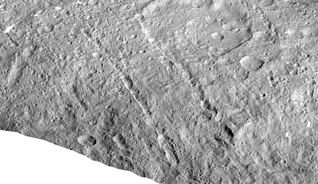 Samhain Catenae on Ceres