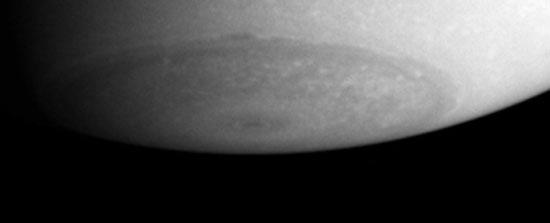 South Pole on Saturn