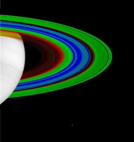Saturn's Rings, Cold and Colder
