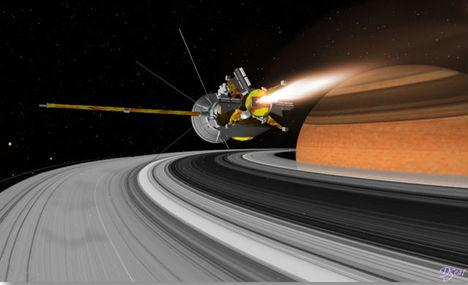 Saturn Orbit Insertion