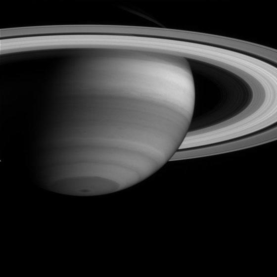 Saturn's Atmosphere and Rings