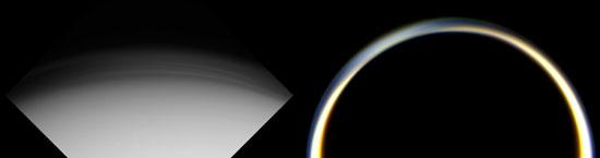 Two Views of Titan's Haze