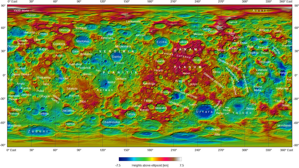 Ceres Feature Names: September 2016
