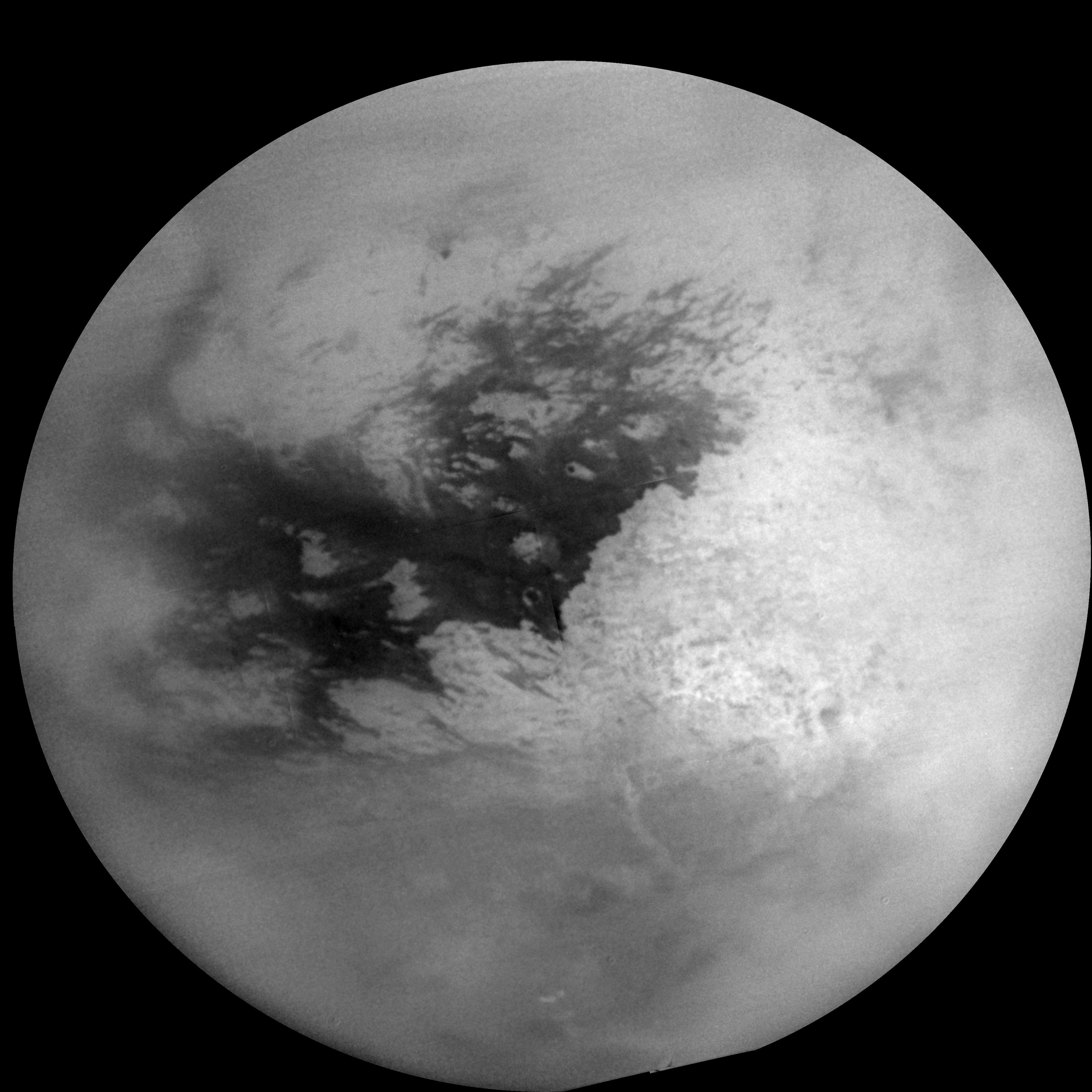 Mosaic of Titan's surface