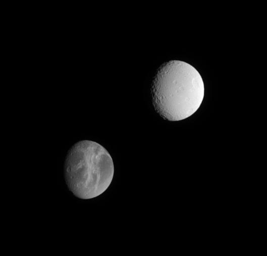 Dione and Tethys