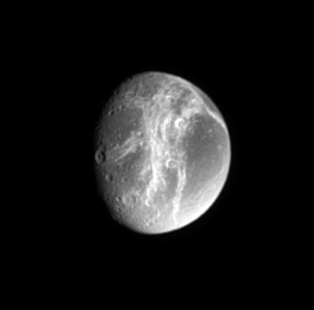 the moon Dione