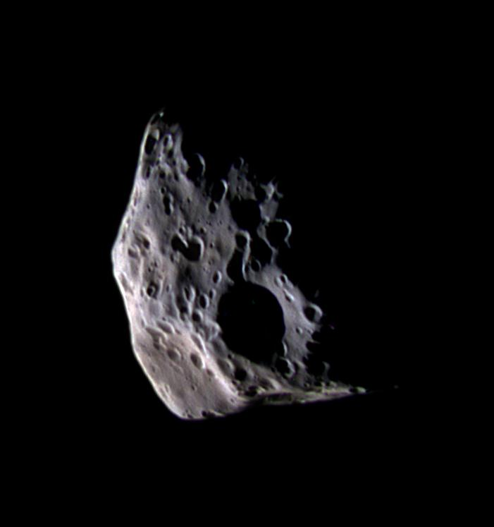 image of the moon Epimetheus