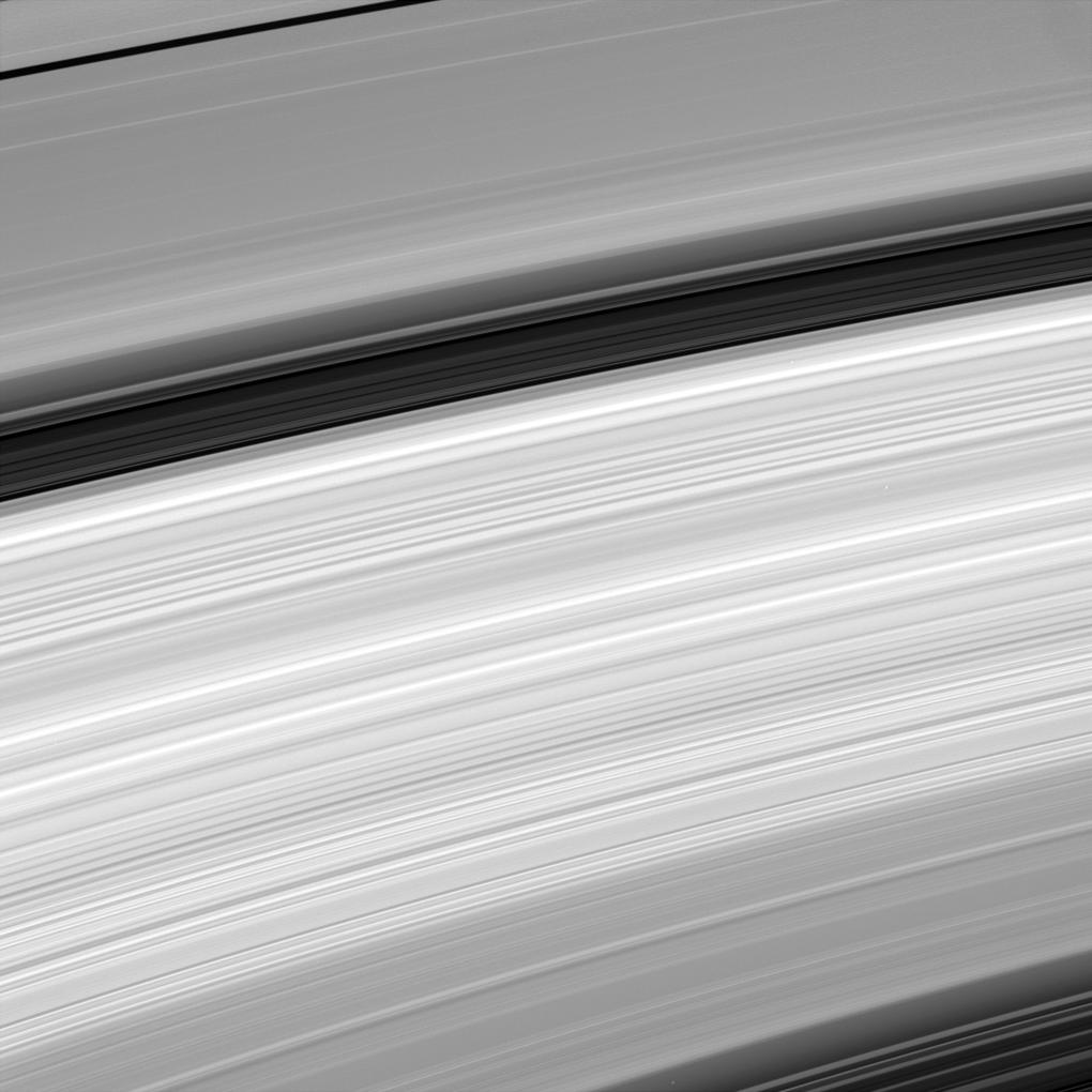An amazing close-up of Saturn's rings