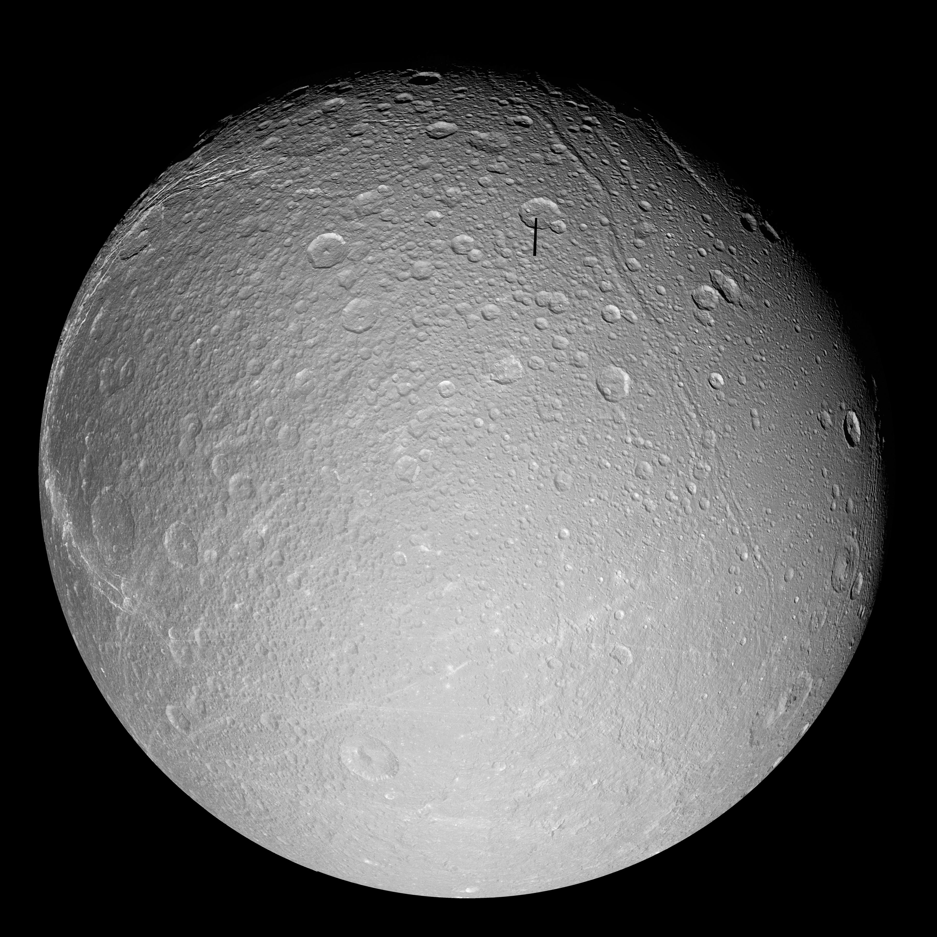 a closeup image of Dione