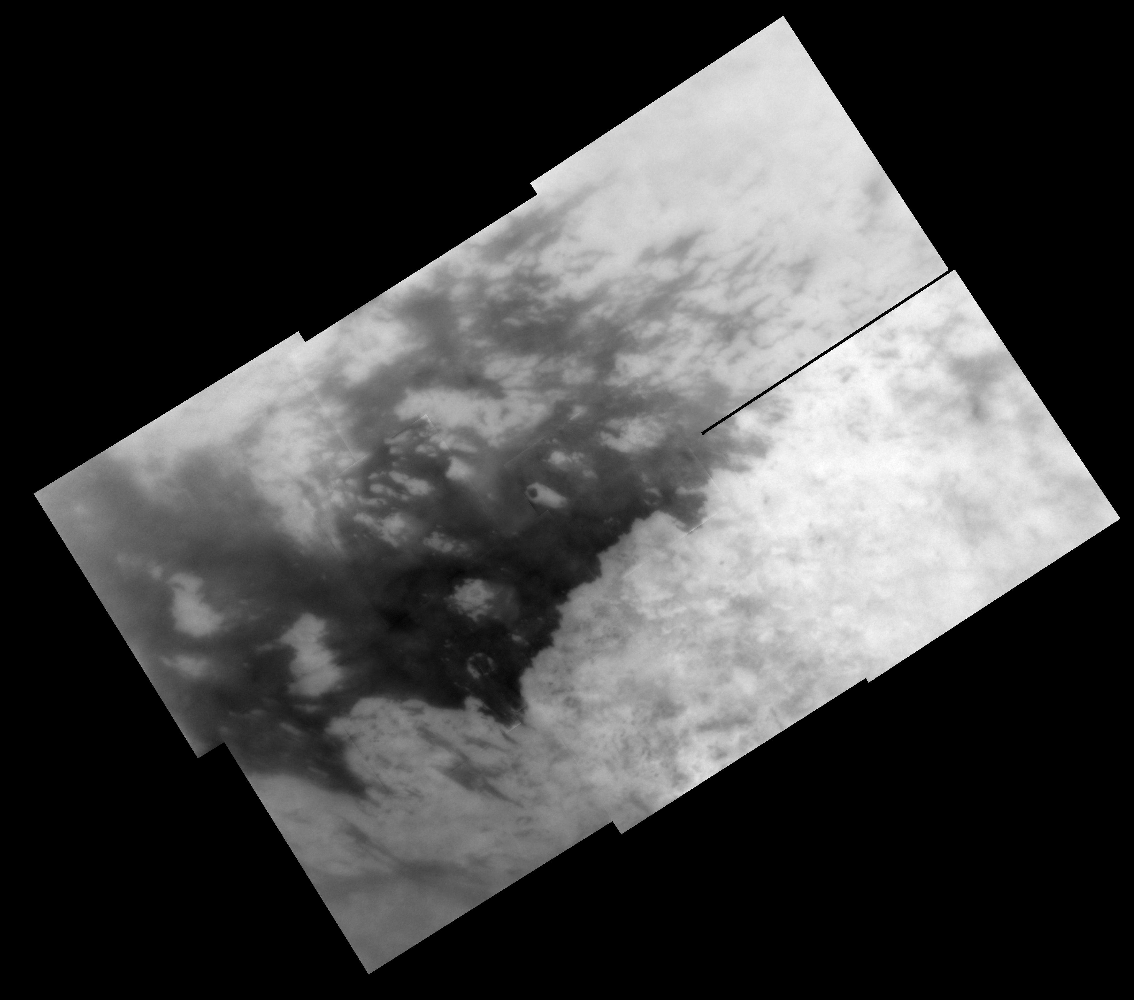 Mosaic of Titan