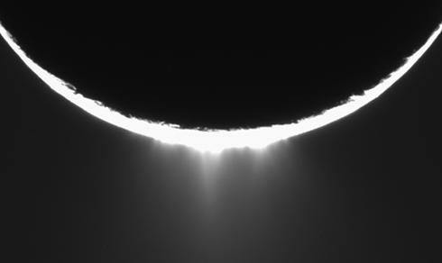 Screenshot from the movie 'Enceladus Plume'