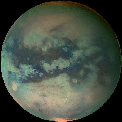An Infrared Movie of Titan