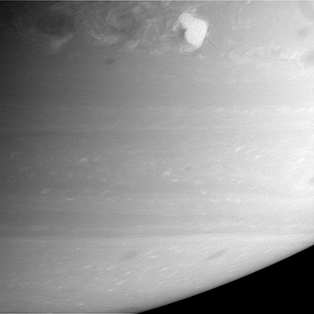 'Storm Alley' on Saturn
