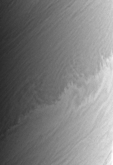 Saturn's clouds