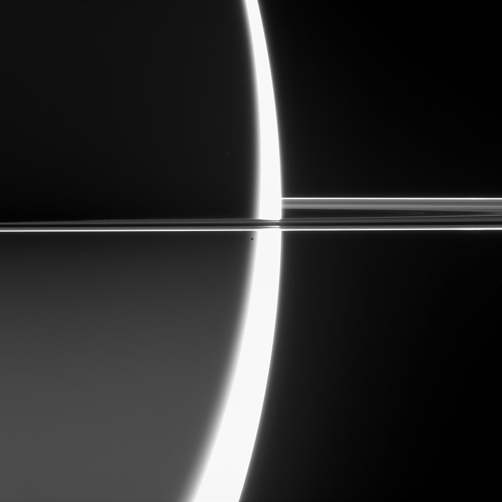 Saturn and Epimetheus