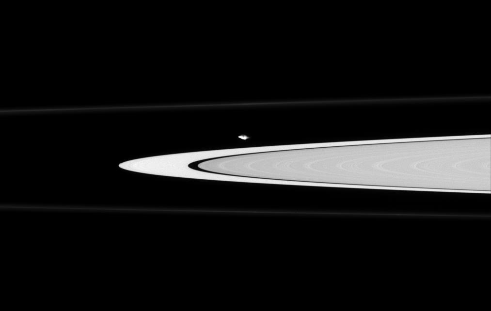 Atlas along the edge of the A ring