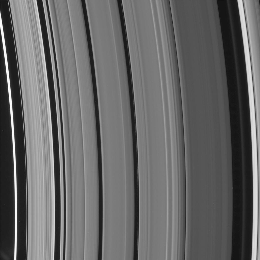 Structure in Saturn's Cassini Division