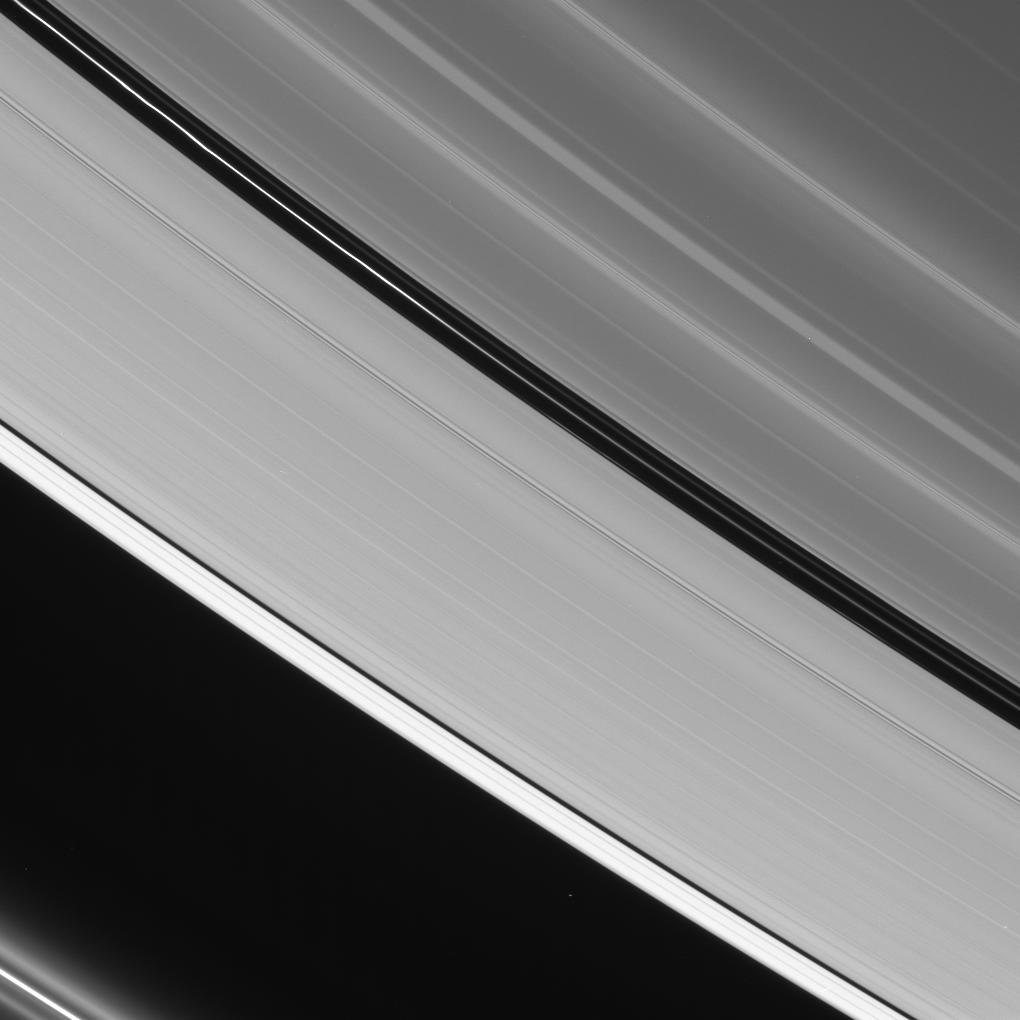 Prominent dark gaps in Saturn's A ring