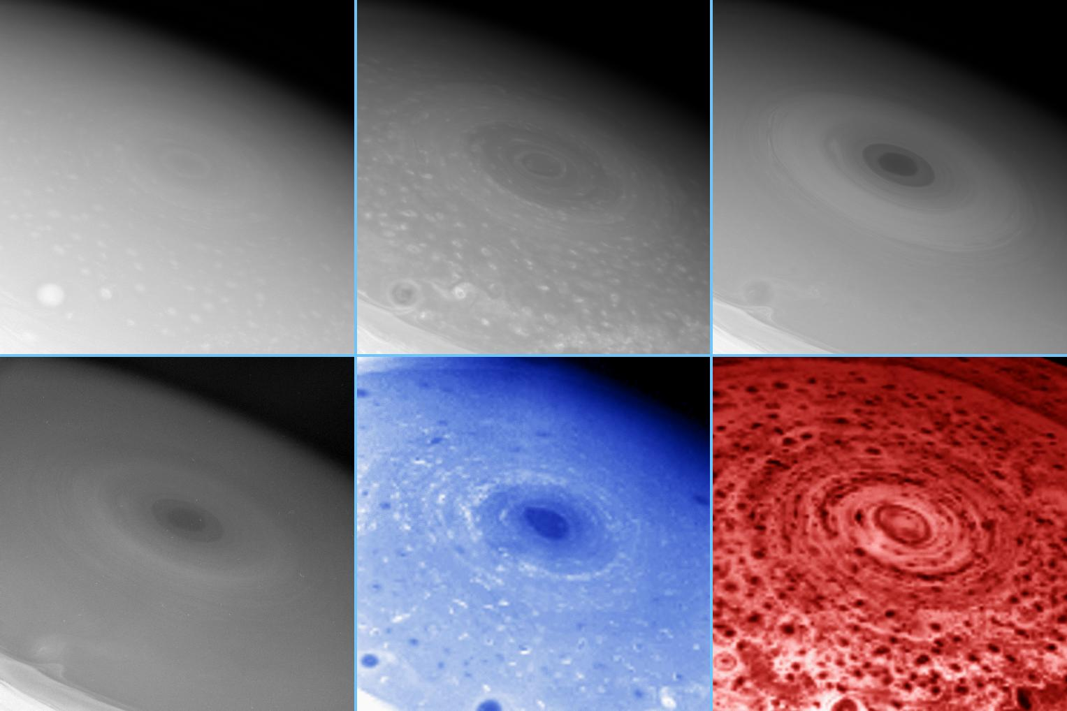 Images of Saturn's south pole