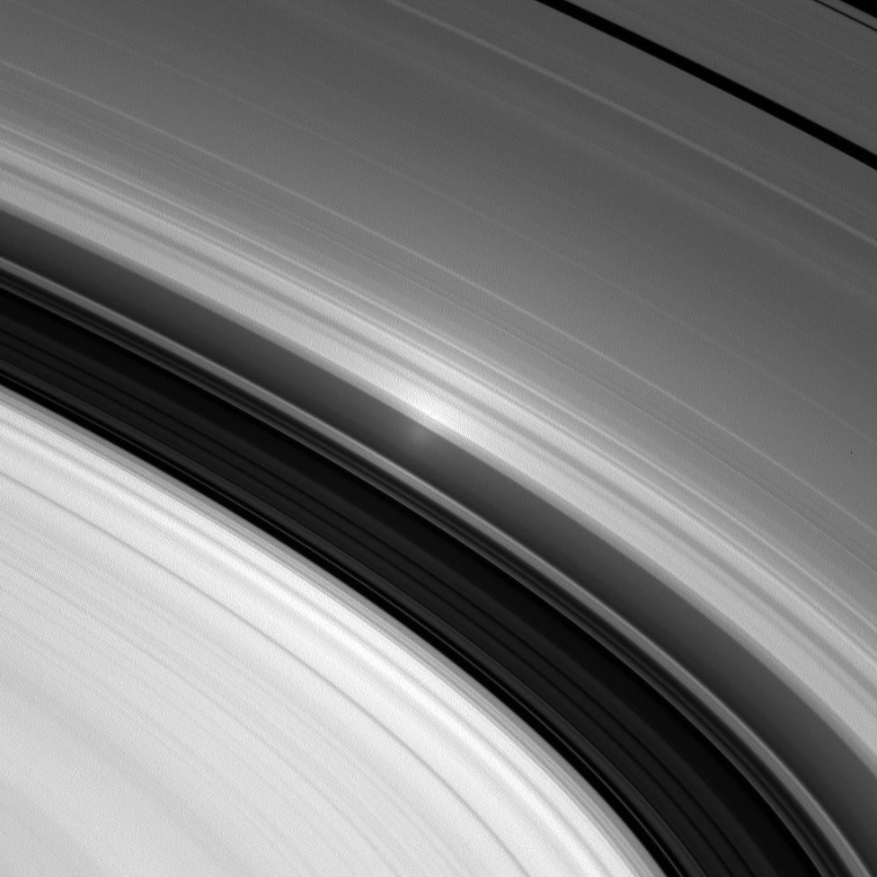 Opposition surge in Saturn's inner A ring