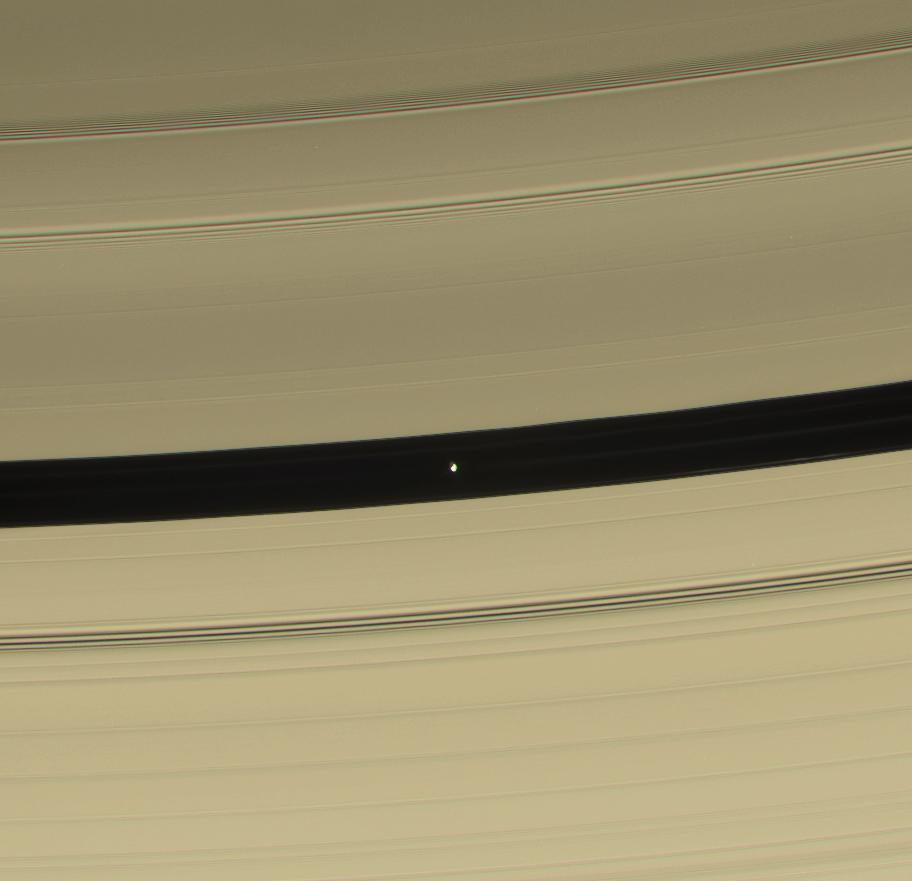 Pan and the Encke Gap within Saturn's rings