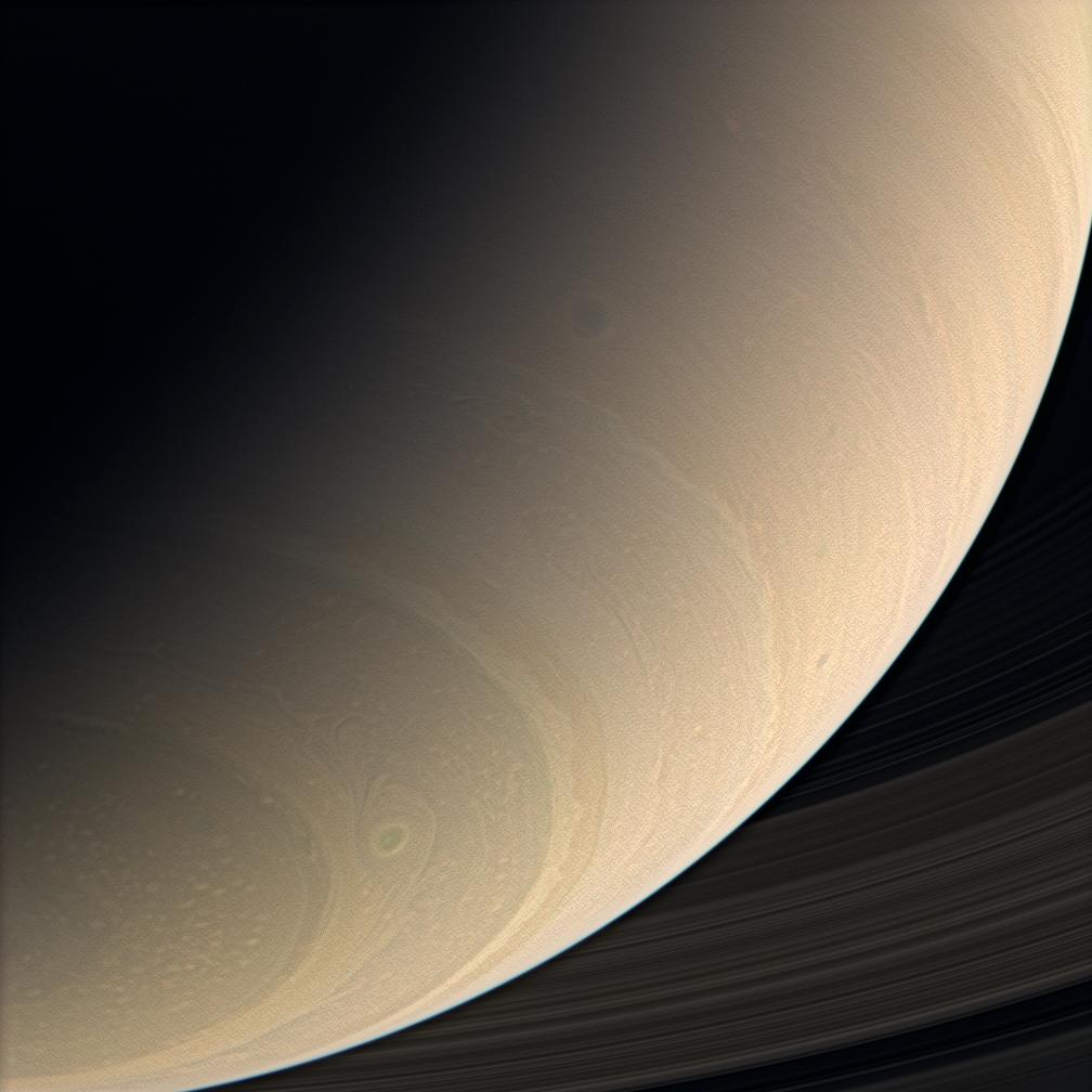 Saturn's mid- and southern-latitudes