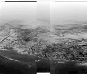 Huygen's view of Titan
