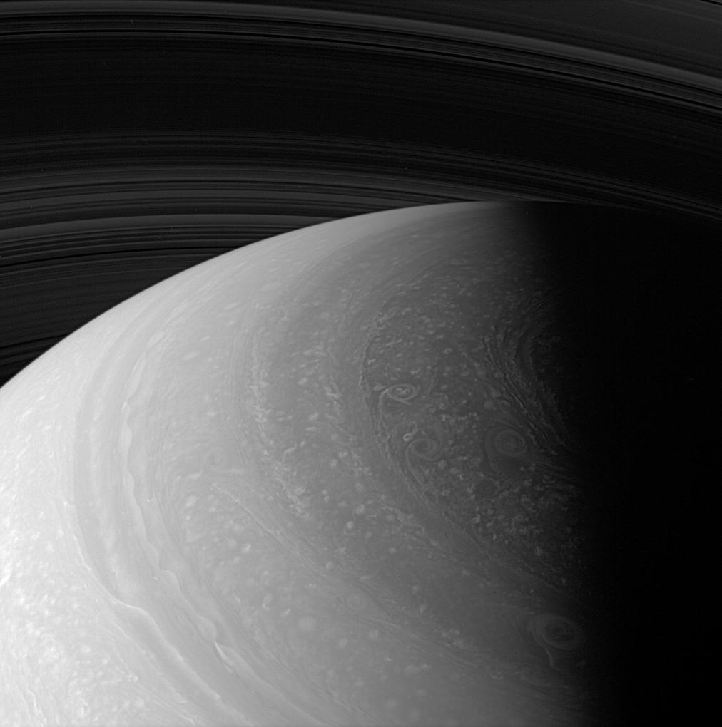 Saturn close-up