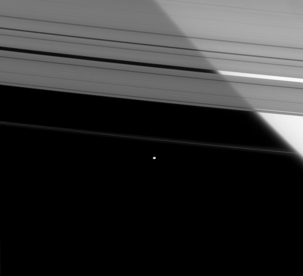 Saturn's rings, Pandora and Prometheus