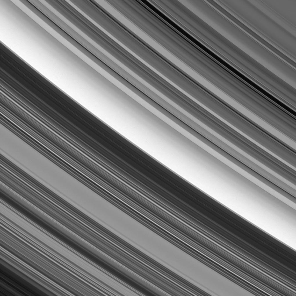 Saturn's C and B rings